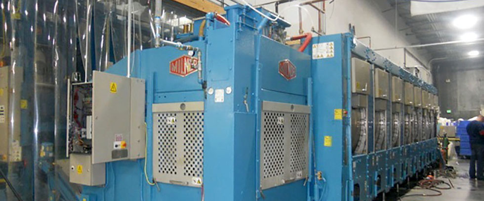 used and new industrial laundry equipment